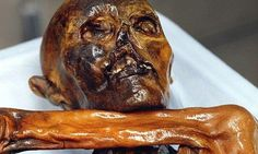 Otzi the iceman could speak again with the help of CT scans