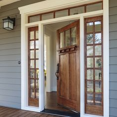 """""""#Beautiful #solid #wood #doors, #sidelites & #transoms can be #customized to any #specification or #design plan.  With #HazeltonWoodDesigns, every…"""""""