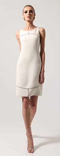 Chado Ralph Rucci 2013 - lovely summer dress in white