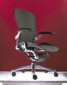 Hermann Miller Aeron Chair Chrome