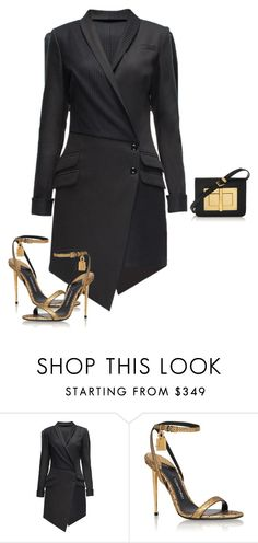"""""""Untitled #1782"""" by quaybrooks on Polyvore featuring Lattori and Tom Ford"""