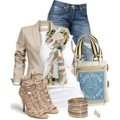 Love this Outfit &  Louis Vuitton Bag!