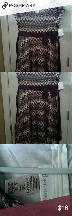 Little  girl dress size 16 below kne8 This dress is beautiful size  16 below  knew dress Bonnie Jean Dresses Casual