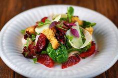 Delicious Blood orange and fennel salad