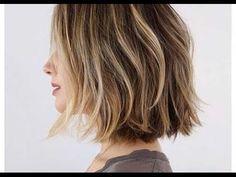 How-to: cut a Layered Bob Haircut Tutorial - YouTube