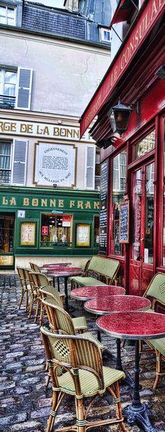 Montmartre, Paris, France                                                                                                                                                     More