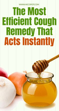 Honey & Onions – The Most Efficient Cough Remedy That Acts Instantly - Hecspot