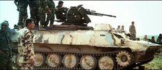 Kurdish YPG MT-LB with ZPU-1.