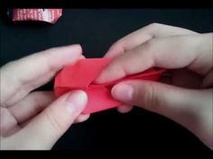 origami baby shoes tutorial - YouTube