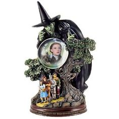 I'll Get You My Pretty: Collectible Wizard Of Oz Wicked Witch Home Decor Sculpture by The Bradford Exchange