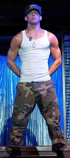 Magic Mike.......yes please!!!!