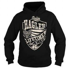 Awesome Tee Last Name, Surname Tshirts - Team HAGLER Lifetime Member Eagle T shirts