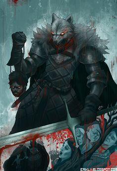 King in the North #GOT #AGOT #ASOIAF http://erikly.blogspot.com.br/