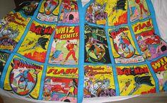 Any of you have Moms cool enough to buy these bed sheets for you in the mid 1970s? #kids #cloudnine #comics #greenlantern #wonderwoman #flash #superman #batman #robin #wonderwoman #sensationcomics #shazam #whizcomics #captainmarvel #dccomics #nationalcomics #detectivecomics #allamericancomics #fawcettpublications  www.comixcomixcomix.com