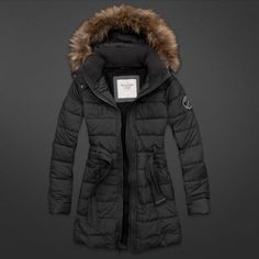 Abercrombie winter layer outfit