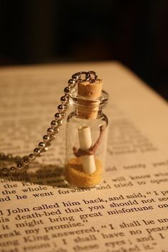 Glass Vial Necklace - for the new vials we got yesterday