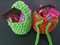 Ravelry: Mini Treat Bag pattern by Krafty Dreams
