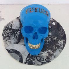 "Beschreibe deinen Pin ...FutureSkull (Blue) - SuperBlast ""TRUTH & Other Lies"" @ CIVILIST Berlin, 2012"