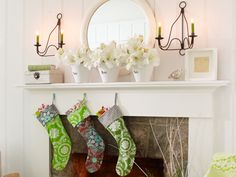 Go bold with your #DIY #stockings - #christmas