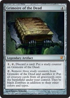 Magic: the Gathering - Grimoire of the Dead - Oh what I would do with this card.