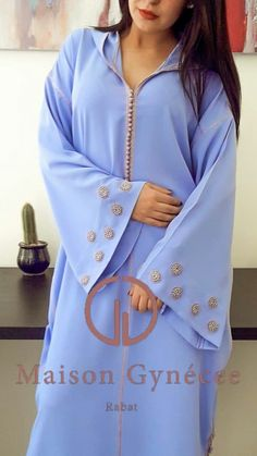 Caftan Dress, Hijab Dress, Hijab Fashion, Fashion Dresses, Arab Women, Love Fashion, Womens Fashion, African Fashion, Kaftans
