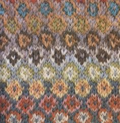 Pattern from Glorious Knitting by Kaffe Fassett