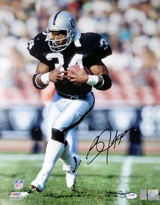 Bo Jackson Autographed Photo Oakland Raiders Psa/dna for sale online Football Trophies, Nfl Football Players, Football Humor, Football Names, Baseball, Football Shirts, Football Boys, School Football, Raider Nation