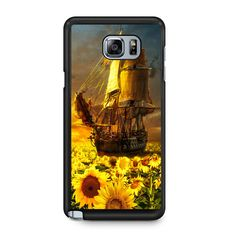 Sunflowers Sea For Samsung Galaxy Note 5