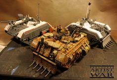 Making What Forge World Won't - Salamanders Everywhere! 40k Armies, 40k Imperial Guard, Warhammer 40k Miniatures, Centaur, Warhammer 40000, Monster Trucks, Army, Tanks, 30th