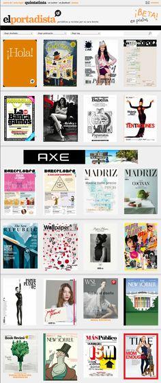 Un blog que recopila portadas de revistas y periódicos.