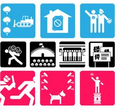 """Olympukes 2012 (Virus Fonts)  """"On the occasion of the London 2012 Olympics, VirusFonts released Olympukes 2012 – a new set of pictograms for the London games."""""""
