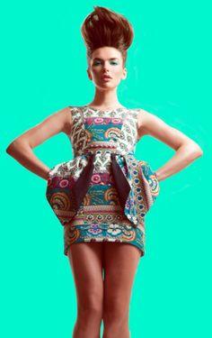Katya for Preview Magazine July 2012 Designer Profile