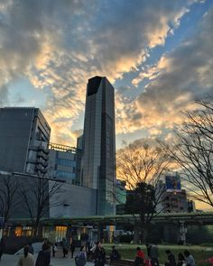#pink #clouds #blue #sky from  #RoppongiHills #Roppongi #Tokyo #Japan