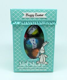 Stampin' Up!, stampin up, SU, Window Treat Box, 3D, Easter, Baby We've Grown, Teeny Tiny Sentiments, Mel Sharp, astampaddiction.com