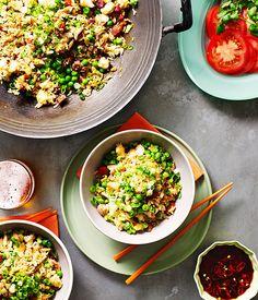 Australian Gourmet Traveller recipe for Yangzhou fried rice.