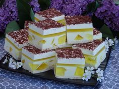 Monia miesza i gotuje: Ciasto Cytrynka bez pieczenia