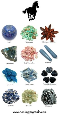 Horse Animal Totem - Crystal Reference Library - Information About Crystals As A Healing Tool