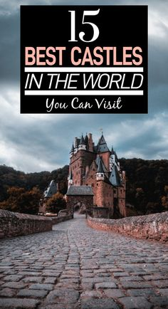 Who doesn't love a good medieval castle? Here are the best castles in the world that you can visit! From Scottish castles to French castles to German ones, they're all here! French Castles, English Castles, Scottish Castles, Neuschwanstein Castle, Fairytale Castle, Beautiful Castles, Abandoned Castles, Abandoned Mansions, Abandoned Places