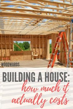 Building our own house: How much did it actually cost? - NewlyWoodwards How much it actually costs to build a house (with dollar amounts) - a real-life custom home built on a budget Home Renovation, Home Building Tips, House Building, Building Ideas, Building Your Own Home, Building Costs, Design Your Own Home, Building Plans, Building A House Checklist