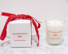 Items similar to SPA Scented Candle. A True to life luxury SPA Scent.Free UK delivery on Etsy Gifts For Her Uk, Christmas Gifts For Her, Gifts For Friends, Gifts For Women, Scented Candles, Candle Jars, Candle Gifts, Luxury Candles, Christmas Candles