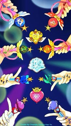 Browse Sailor Moon Sailor Mercury Sailor Mars collected by Mayu Hime and make your own Anime album. Sailor Jupiter, Sailor Mars, Arte Sailor Moon, Sailor Moon Fan Art, Sailor Moon Brooch, Sailor Moon Wands, Sailor Pluto, Sailor Neptune, Sailor Scouts