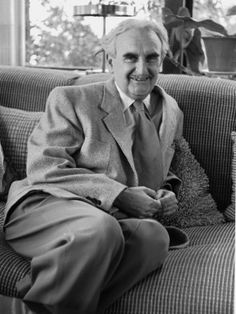 Buy Casual Portrait of Architect Richard Neutra, among the most important modernist architects.  Photographic Print