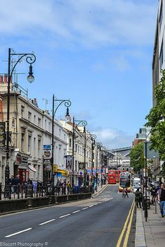 Queen's Road leads from the Railway Station to London) toward the welcoming sight of the sea. Brighton England, Brighton Rock, Brighton And Hove, Great Places, Places To See, Wales, Seaside Shops, Tours Of England, United Kingdom