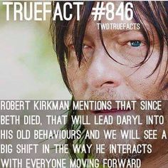 Old Daryl returns - I hope this is good character development and not some lazy plot device.