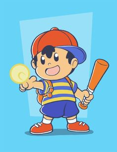 D\'aww, Ness is so cute!