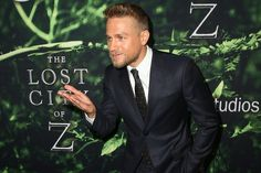 Charlie Hunnam Photos Photos - Actor Charlie Hunnam attends the premiere of Amazon Studios' 'The Lost City Of Z' at ArcLight Hollywood on April 5, 2017 in Hollywood, California. - Premiere of Amazon Studios' 'The Lost City of Z' - Arrivals
