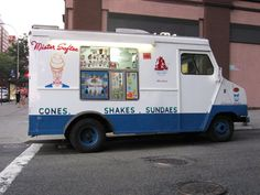 A Mister Softee ice cream truck makes the rounds. But after July even Mister Softee has to keep it down. New York, NY — At a busy Manhattan corner… Vanilla Shake Recipes, Ice Cream Drinks, Khao Lak, Koh Chang, Oldies But Goodies, Koh Tao, Ol Days, My Childhood Memories, Krabi