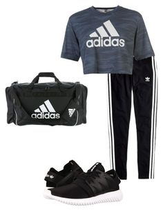 """Untitled #267"" by dashabirzul on Polyvore featuring Madewell, adidas and adidas Originals"