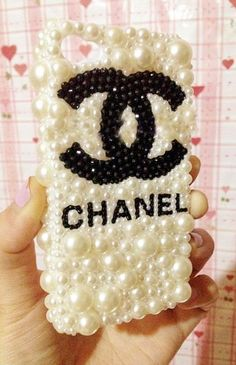 Bling Pearl iPhone case iPhone 4 bling case Swarovski by MLeddy99, $22.50