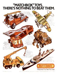 Matchbox Toys Ad 1976